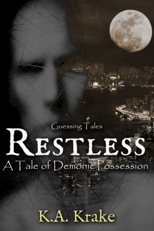 Restless Guessing Tales - Urban Fantasy Novella - OFFICIAL COVER